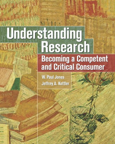 Understanding Research Becoming a Competent and Critical Consumer  2006 9780131198449 Front Cover
