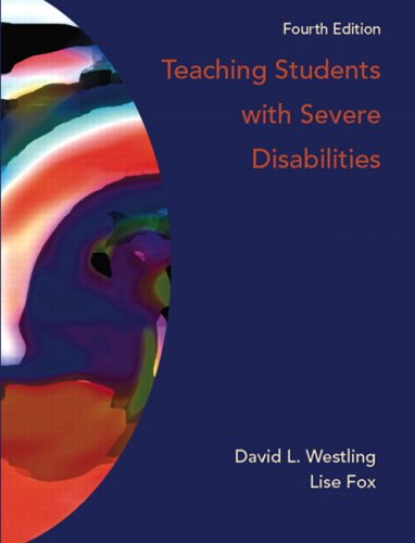 Teaching Students with Severe Disabilities  4th 2009 edition cover