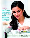 Certification Exam Review for the Pharmacy Technician  3rd 2016 edition cover
