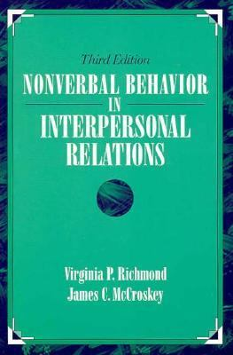 Non-Verbal Behavior in Interpersonal Relations  3rd 1995 edition cover