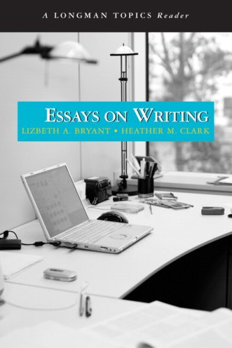 Essays on Writing   2009 edition cover