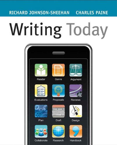 Writing Today   2010 (Brief Edition) edition cover