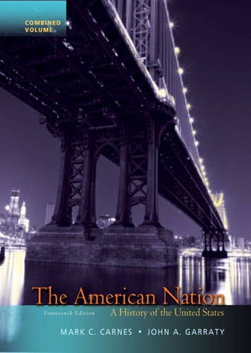 American Nation A History of the United States 14th 2012 (Revised) edition cover