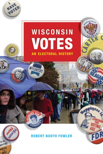 Wisconsin Votes An Electoral History  2008 edition cover