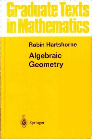 Algebraic Geometry   1977 (Revised) edition cover