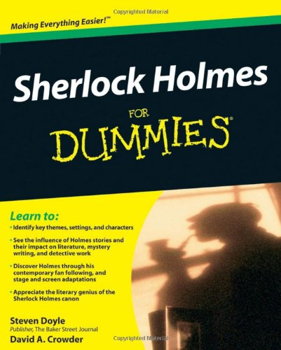 Sherlock Holmes for Dummies   2010 edition cover
