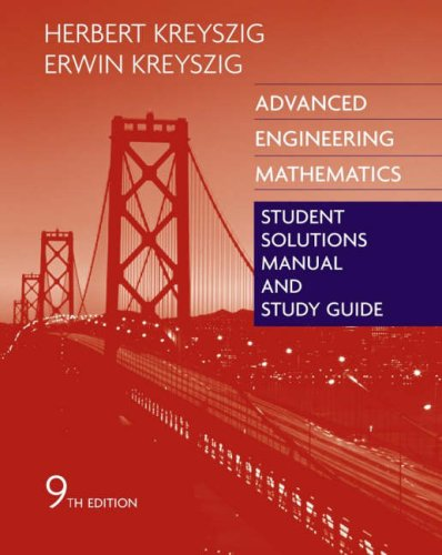 Advanced Engineering Mathematics  9th 2007 (Revised) edition cover