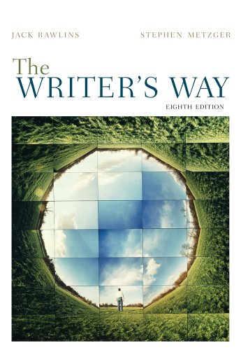 Writer's Way  8th 2012 edition cover
