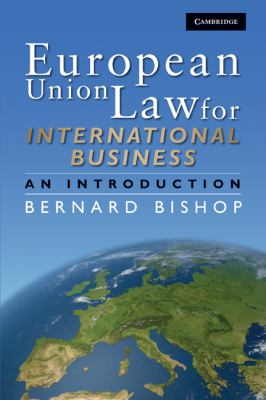 European Union Law for International Business An Introduction  2009 9780521881449 Front Cover