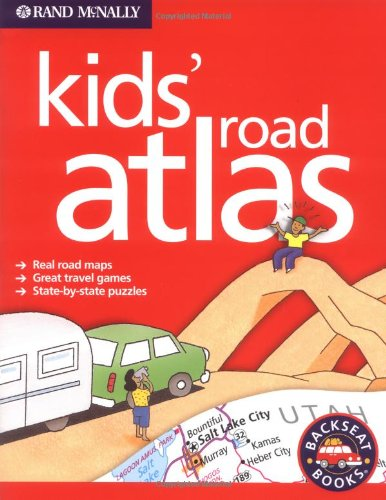 Kids' Road Atlas  N/A 9780528965449 Front Cover