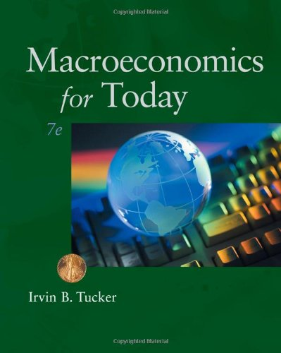Macroeconomics for Today  7th 2011 edition cover