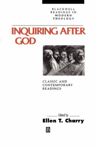 Inquiring after God Classic and Contemporary Readings  2000 edition cover
