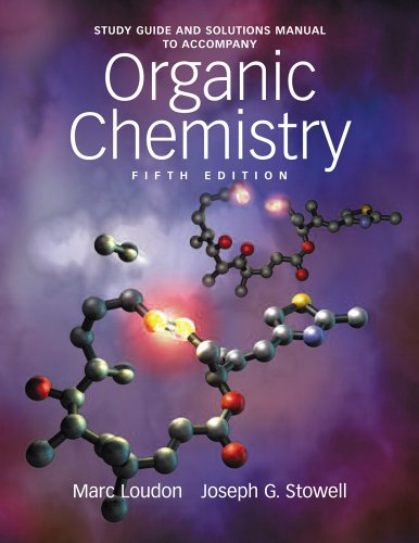 Study Guide and Solutions Manual to Accompany Organic Chemistry  5th edition cover