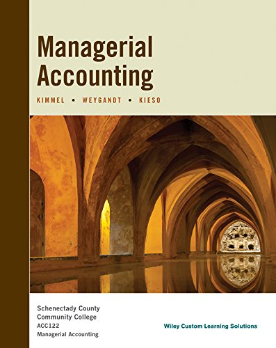 MANAGERIAL ACCOUNTING >CUSTOM<          N/A 9781118950449 Front Cover