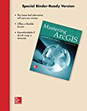 LooseLeaf for Mastering ArcGis  7th 2016 9781259598449 Front Cover
