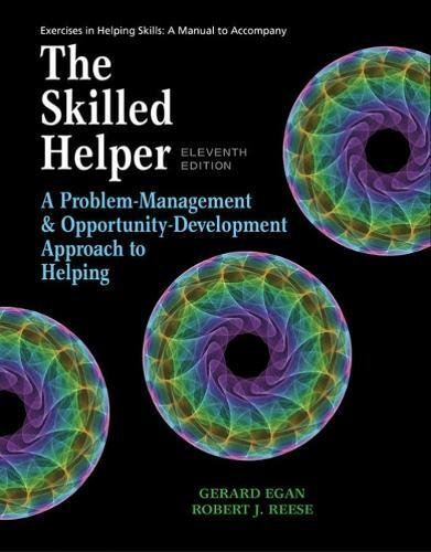 Student Workbook Exercises for Egan's the Skilled Helper, 11th  11th 2019 (Revised) 9781337795449 Front Cover