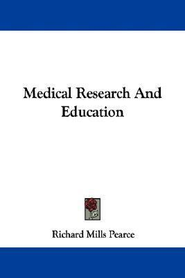 Medical Research and Education N/A edition cover