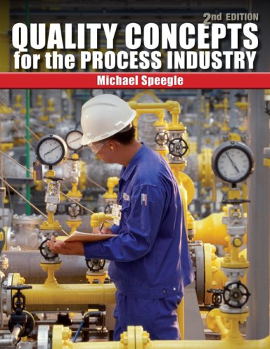 Quality Concepts for the Process Industry  2nd 2010 edition cover
