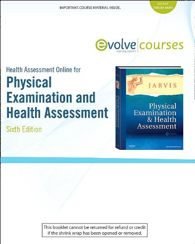 Health Assessment Online for Physical Examination and Health Assessment (User Guide and Access Code)  6th 2011 edition cover