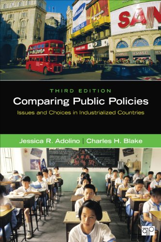 Comparing Public Policies: Issues and Choices in Industrialized Countries  2014 edition cover
