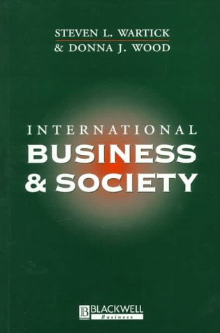 International Business and Society   1997 9781557869449 Front Cover