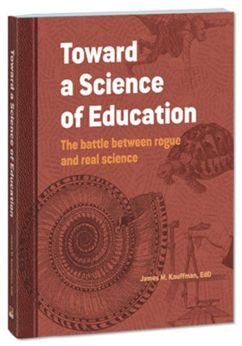 TOWARD A SCIENCE OF EDUCATION  N/A edition cover