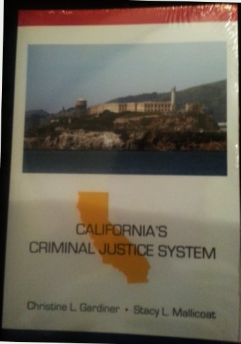 California's Criminal Justice System   2012 edition cover