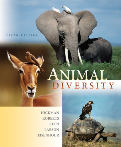 Animal Diversity  5th 2009 edition cover