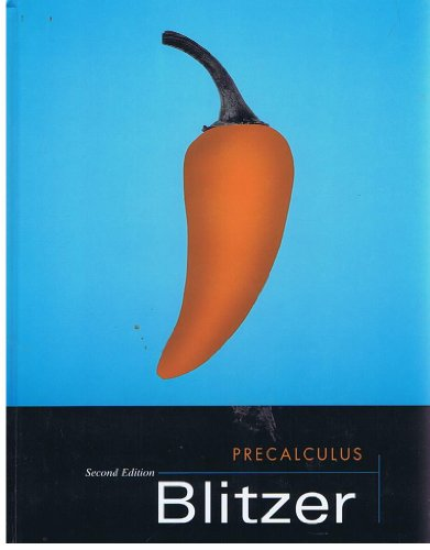Precalculus 2nd 2004 (Student Manual, Study Guide, etc.) edition cover