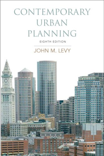 Contemporary Urban Planning  8th 2009 edition cover