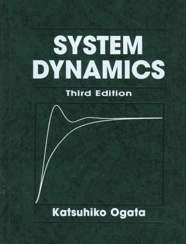 System Dynamics  3rd 1998 edition cover