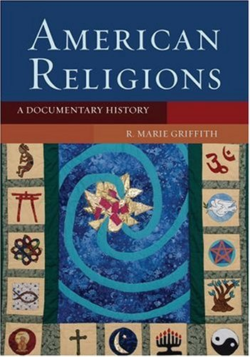 American Religions A Documentary History  2007 edition cover