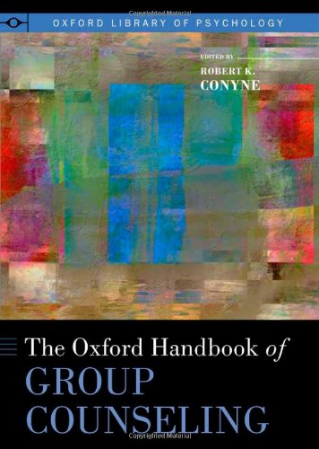 Oxford Handbook of Group Counseling   2011 edition cover