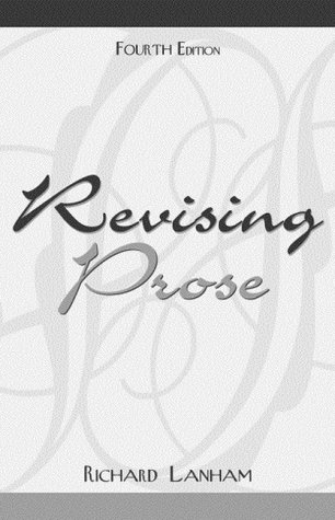 Revising Prose  4th 2000 (Revised) edition cover
