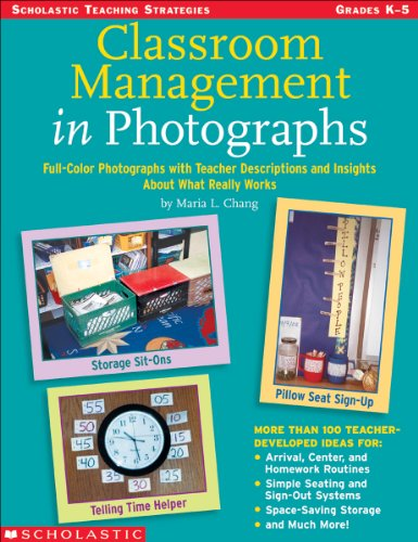 Classroom Management in Photographs Full-Color Photographs with Teacher Descriptions and Insights about What Really Works  2004 edition cover