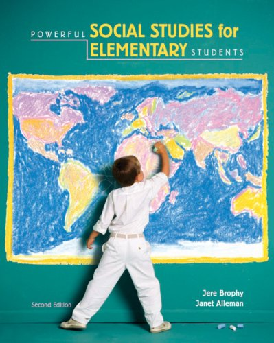 Powerful Social Studies for Elementary Students  2nd 2007 9780534555450 Front Cover