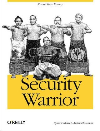 Security Warrior   2004 edition cover