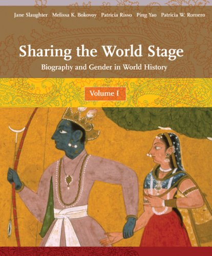 Sharing the World Stage Biography and Gender in World History  2008 edition cover