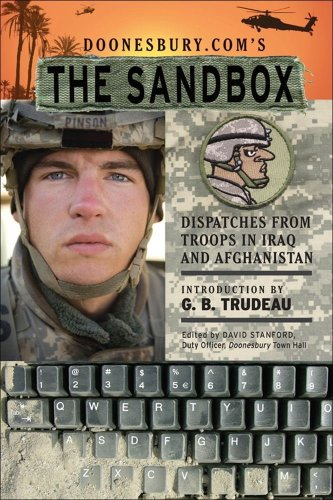 Doonesbury.Com's the Sandbox Dispatches from Troops in Iraq and Afghanistan  2007 edition cover