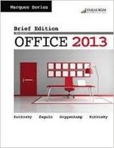 MICROSOFT OFFICE 2013,BRIEF-TEXT        N/A 9780763852450 Front Cover
