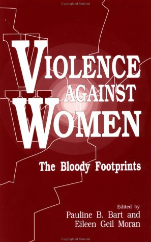 Violence Against Women The Bloody Footprints  1992 edition cover