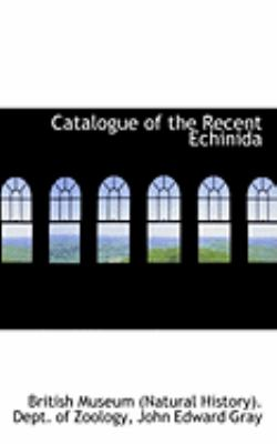 Catalogue of the Recent Echinida:   2009 edition cover
