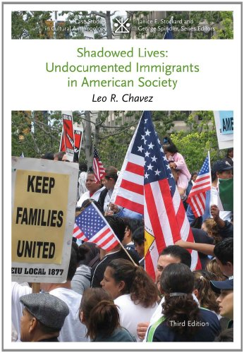 Shadowed Lives Undocumented Immigrants in American Society 3rd 2013 edition cover