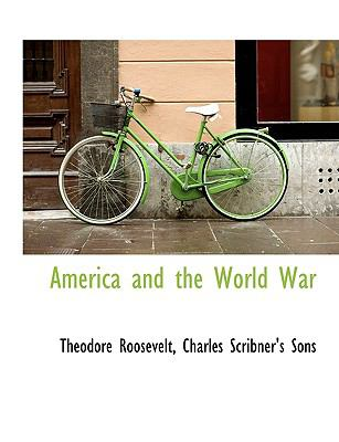 America and the World War N/A edition cover