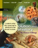 Evolution and Prehistory: The Human Challenge  2013 edition cover