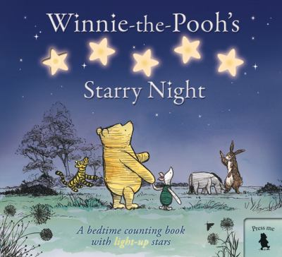 Winnie-the-Pooh's Starry Night  2009 9781405247450 Front Cover