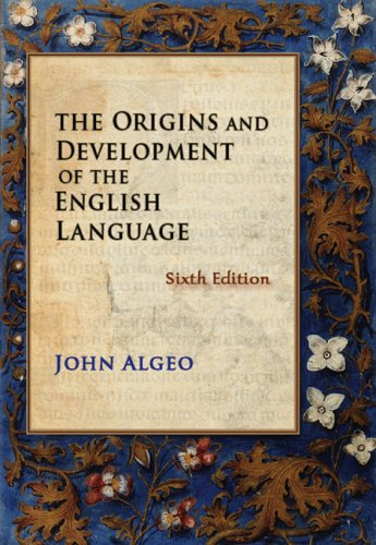 Origins and Development of the English Language  6th 2010 edition cover