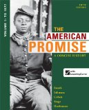 American Promise: a Concise History, Volume 1 To 1877 5th 2014 edition cover