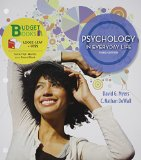 Loose-Leaf Version for Psychology in Everyday Life and LaunchPad 6 Month Access Card  3rd 2014 edition cover
