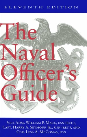 Naval Officer's Guide 11th 1998 edition cover
